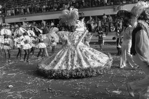 Parade of Recreative Society Samba School Unidos de São Carlos