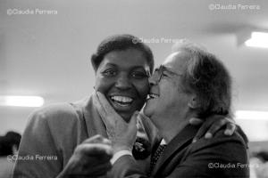 Benedita da Silva and Darcy Ribeiro