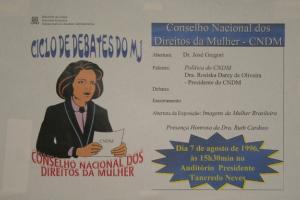 CICLO DE DEBATES DO MJ