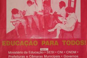 ALFABETIZAR E PROFISSIONALIZAR - EDUCAÇÃO PARA TODOS!