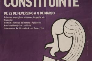 JORNADA SOBRE AS CONQUISTAS DA MULHER NA CONSTITUINTE