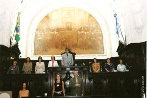 Sessão Solene em Homenagem ao Dia Internacional da Mulher em Assembléia Legislativa