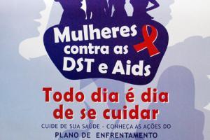 8 DE MARÇO DIA INTERNACIONAL DA MULHER , MULHERES CONTRA AS DST E AIDS