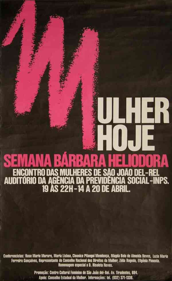 MULHER HOJE - SEMANA BÁRBARA HELIODORA